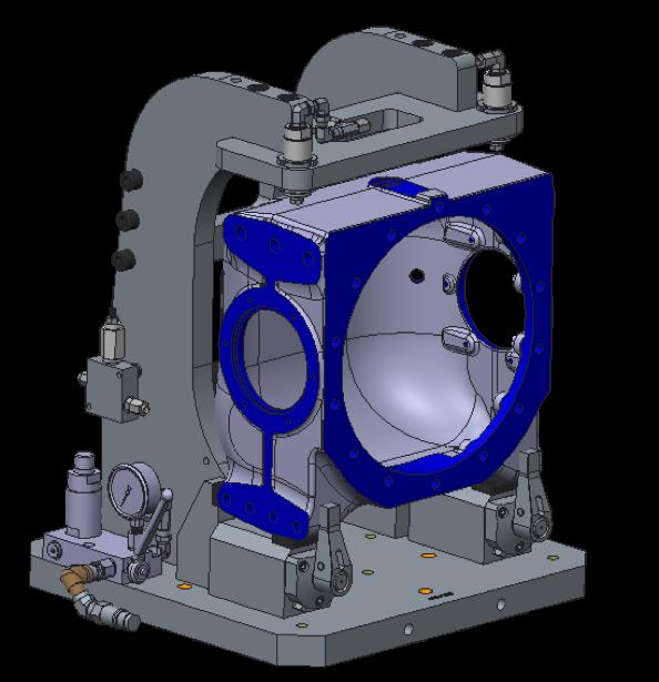 Casting Machining Amp Pressure Leak Test Fixture