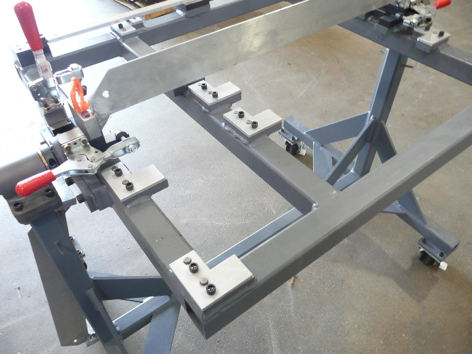 Grill Top Roll Over Weld Fixture Synergetic Industries Llc